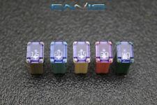 New listing (5) Pcs (1) Ea Variety Amps Micro Fml Time Delay Female Fuse Usa Cooper Bussman