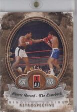 Muhammad Ali 2011 Ringside Boxing 2 Career Record The Comeback 6/10 #39