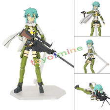"Anime Sword Art Online II Asada Shino Sinon 6"" PVC Figure 241 No Box"