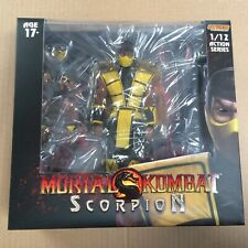 Storm Collectibles Sdcc 1/12 Mortal Kombat Scorpion Action Figure - In Stock!