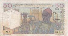AFRIQUE OCCIDENTALE FRANCAISE-TOGO : RARE 50 FRANCS 5-10-1955 - P.44