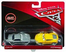 Véhicules Mattel Cars 3 Disney Sterling & Cruz Ramirez