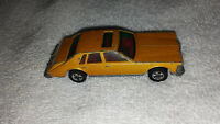 Hot Wheels 1980 Cadillac Seville Gold 1/64 Scale