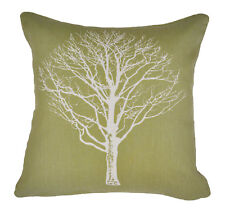 X2 Fusion Woodland Trees Reversible Filled Scatter Cushion Cover 43x43