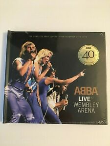 ABBA Live at Wembley Arena (CD, 2014, 2 Discs, Polydor) NEW & SEALED