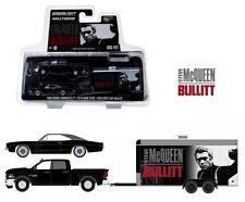 GREENLIGHT 1:64 2016 RAM 2500 & 1968 DODGE CHARGER R/T BULLITT DIECAST CAR 31020