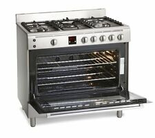 Graded Montpellier Stainless Steel Gas Range Cooker | MR90GOX 90cm