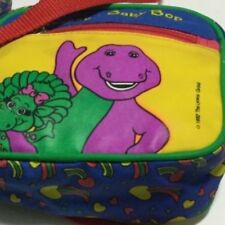 Vintage Barney & Baby Bop Bag and Coin Purse