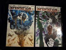 INFESTATION - Vol 1 & 2 - IDW - Star Trek Ghostbusters GI Joe Transformers