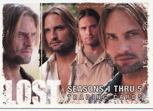 2009 LOST Seasons 1-5 Rittenhouse San Diego Comic-Con SDCC promo cards P3 P4 P5