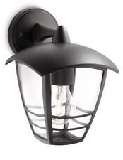 Philips MyGarden Creek Outdoor Wall Light Black (Requires 1 x 60 Watts E27 Bulb)