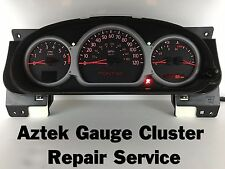 01-03 Pontiac Aztek Speedometer Instrument Gauge Cluster REPAIR SERVICE