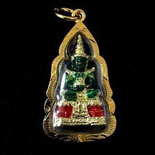 The Emerald Buddha Phra Kaew Morakot Pendant Figurine Thai amulet Lucky Rich NBA