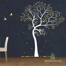 Wall Stickers Tree Flower Kids Art Murals Decals Butterfly Home Vinyl Decor-P139