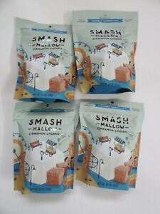SMASH MALLOW Cinnamon Churro ~ New & Sealed ~ Lot of 4 Organic Cane Marshmallows