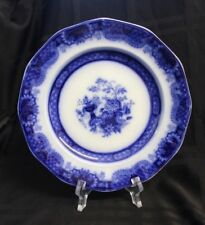 Indian Jar Pattern Jacob and Thomas Furnival & Co Flow Blue Salad/Luncheon Plate