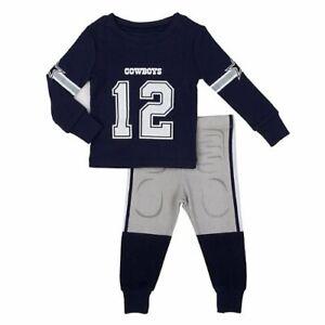 Dallas Cowboys Baby Infant Boys Jersey Uniform Pajamas sz 3 Months