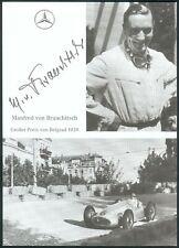 Original MANFRED VON BRAUCHITSCH (1905-2003) Autogramm signierte Postkarte