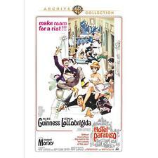 Hotel Paradiso 1966 DVD Gina Lollobrigida, Alec Guinness, Robert Morley
