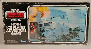 Hoth Ice Planet Adventure Retro Board Game [Snowspeeder Luke Action Figure]