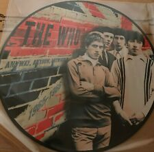 THE WHO - ANYWAY ANYHOW ANYWHERE - LP  PICTURE DISC - LIMITED EDITION
