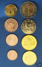 manueduc  AUSTRIA  2005   Serie las 8 monedas  con los 2 €  Conmemorativos  UNC