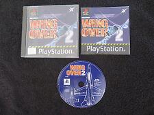 PS1 : WING OVER 2 - Completo ! Compatibile PS2 e PS3