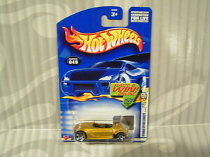 2002 HOTWHEELS ''FIRST EDITIONS'' #049 = HYUNDAI SPYDER CONCEPT = GOLD ,E910 win