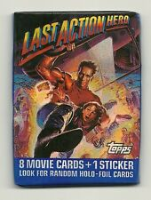 The Last Action Hero Movie Trading Cards (Topps, 1993) Pack