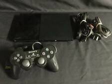 Black Playstation 2 Slim PS2 Console + Dual Shock Controller PAL AUS SELLER.