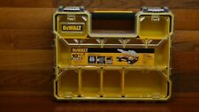 10-Compartment Tool Storage Small Parts Organizer Stackable Dewalt Case (3 PC)