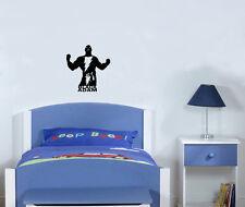 Negro ADAM SUPERVILLANO Infantil Adhesivo para dormitorio adhesivo pared imagen