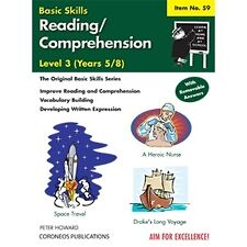 Reading / Comprehension Level 3 Yrs 5 to 8