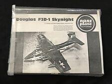 RAREPLANES 1/72 DOUGLAS F3D-1  SKYNIGHT---  LIMITED EDITION VACFORM !!
