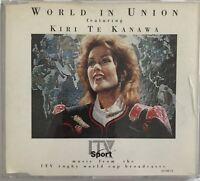 WORLD IN UNION : FEATURING KIRI TE KANAWA - [ CD MAXI ]
