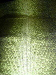 Celestial Creations ~ Ombre Multi yellow- green Small block checks ~ 3 1/4 yds