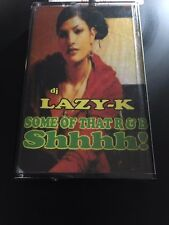 DJ LAZY K Some of that R&B Shhhhh CLASSIC NYC Cassette Mixtape 90s RNB