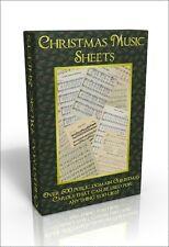 Christmas Music Sheets - Over 500 Public Domain Christmas Carols & Songs
