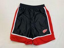 Mens Detroit Red Wings NHL Red Athletic Shorts Medium EUC