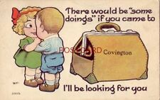1914 There Would Be Some Doings If You Came To Covington I'Ll Be Looking For You