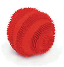 "COASTAL RASCALS RED 2.5"" MINI LATEX SPINY BALL DOG TOY FREE SHIP TO THE USA"