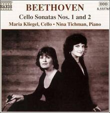 L. Van Beethoven Music for Cello & Piano Kliegel, Tichman CD New Sealed Free P&P