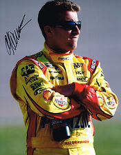 A.J AJ ALLMENDINGER signed NASCAR 11X14 photo with COA