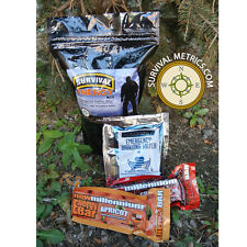 800 KCAL Survival Energy Food Kit with Water