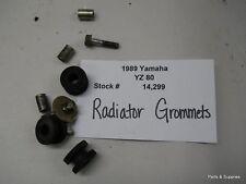 1989 89 Yamaha YZ 80 YZ80 Radiator Mounting Grommets