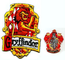 HARRY POTTER COLLECTIONS HOGWARTS HOUSE OF GRYFFINDOR SCARF CREST APPLIQUE PATCH