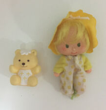 Vintage Strawberry Shortcake Doll Baby Butter Cookie & Jelly Bear!