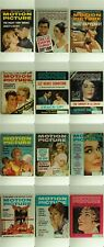 Motion Picture Magazine -Lot of 12 1961 Back Issues Feat. Marilyn Monroe & Elvis