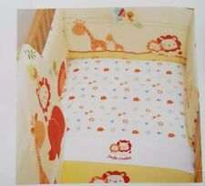 Mothercare my jungle family moses basket, cot bedding & accessories