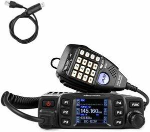 Anytone AT-778UV 2M/70CM  Ham Radio 25W 250 Ch VHF/UHF W/cable Ex TX US SELLER